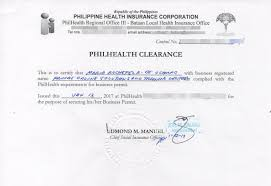 Sample Ce Ideal Sample Philhealth Certificate Of Contribution From