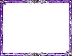 purple frame transpa background png