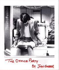 the office party theatrefusion the office party flyer front