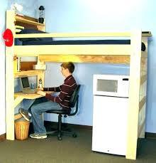 teen loft bed with desk beds desks bunk teenage australia pottery barn b