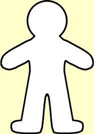 Cut Out Character Template Cut Out Character Template Magdalene Project Org
