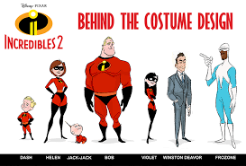 the incredibles 2 characters. How Retro Fashion Inspired The Look Of Characters In Incredibles And
