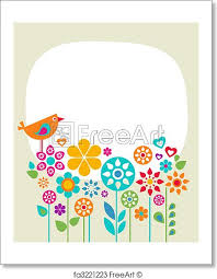 Easter Template Free Art Print Of Easter Card Template 1
