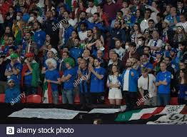 London, Großbritannien. Juli 2021. Italienische Unterstützer beim UEFA Euro  2020 Finale zwischen Italien und England im Wembley Stadion in London  (England), 11. Juli 2021. Foto Andrea Staccioli/Insidefoto Kredit:  Insidefoto srl/Alamy Live News