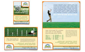 Golf Instructor Course Flyer Ad Template Word Publisher