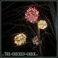 outdoor lighting balls. The Chicken Wire Lighted Christmas Balls Tis Diy Outdoor Light 2 Strands Of 100 Count Mini Lighting S