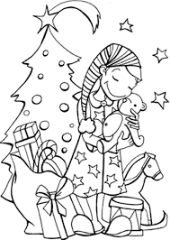 Christmas Coloring Pages Printable For Free Many Interesting Cliparts
