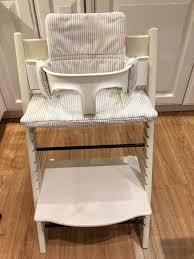 stokke tripp trapp chair w gliders baby set cushion