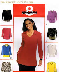 Tunic Top Patterns Unique McCall's 48 Tunic Top Sewing Pattern Misses XS S M
