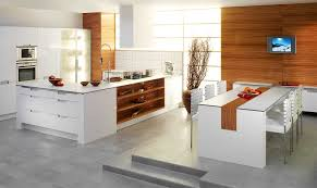 Concrete Kitchen Flooring Trends In Kitchen Flooring Jump Into A New Trend This Season And