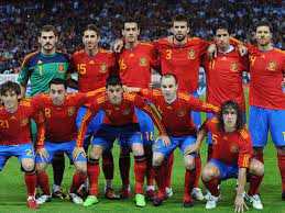 Madrid — spain coach luis enrique left captain sergio ramos out of his squad for euro 2020 on monday, meaning that there will be no real madrid players representing spain at a major tournament. World Cup 2010 Spain Squad Barcelona Stars Victor Valdes Pedro Make Vicente Del Bosque S Final 23 Goal Com