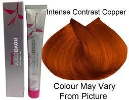 Novacolor Hair Color Chart De Lorenzo Permanent Colour Intense Copper 60g