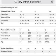Tory Burch Size Chart Brad New Dress Size S Tory Burch Foster Dress Nwt