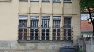 Filehauptzollamt München West Schmiedeeisen Fenstergitter Am