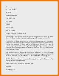 12 13 Sample Grievance Letter Against Supervisor