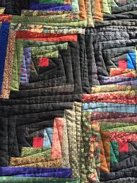 Free Motion Quilting Designs For Log Cabin Fun Quilting Done On Log Cabin Quilt Made It A Little More