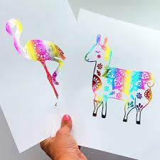 diy foil art prints if i knew how easy