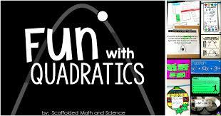 fun with quadratics