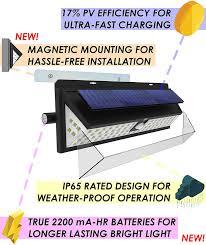 True Light Solar Umr 100 Led Solar Security Light 2019 Motion Sensor Outdoor Lighting W Magnetic Mounting Usb Battery Power Dusk Dawn Detector Ultra Bright