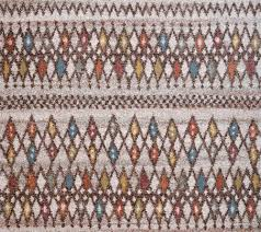 mid century modern multicolor diamond pattern rug  woodwaves