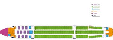 Norwegian Seating Chart