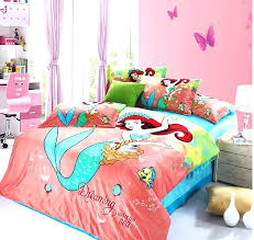 little mermaid bedding full size sizes sheets pink twin
