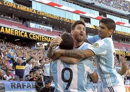 Fecha 2 de zona campeonato. Argentina Vence A Estados Unidos Y Estara En La Final De La Copa America Deportes El Pais