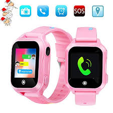 Kids Phone Smart Watch, GPS Tracker Watches for Children Girls Boys 1.44inch Touch Cell Watch: Amazon.com