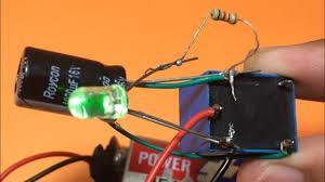 How To Make Simple Oscillator Flashing Blinking Led Light Using Relay Diy Blinking Led