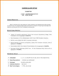 Sample Career Objectives For Resume For Freshers Inspirationa