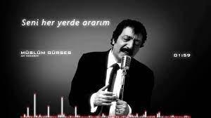 MÜSLÜM GÜRSES Ah Yanarım (Lyrics