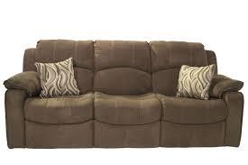 Tornado Chocolate Reclining Sofa