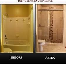 bathtub conversion to walk in tub. mudrak tub to shower conversion - contemporary bathroom dc metro design\u2026 bathtub walk in