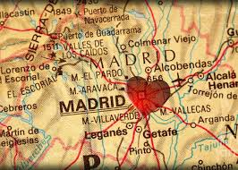 Map of madrid area, showing travelers where the best hotels and attractions are located. Map Of Madrid Spain Espana Europe In A Antique Distressed Vintag Photograph By Elite Image Photography By Chad Mcdermott