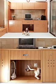 dog friendly furniture. in toru hiroseu0027s living room kobe japan his basset hound marco has a hidden snack bar restroom and nap space dog friendly furniture