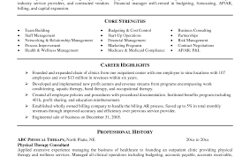 Physical Therapy Resumes Technician Optometrist Resume