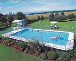 wilkes pool onground onground rectangle pool u201c huge above ground pool o43