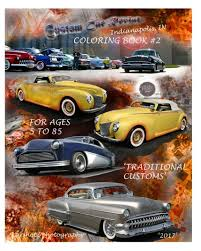 view custom car revival coloring book 2 by karshotz photography