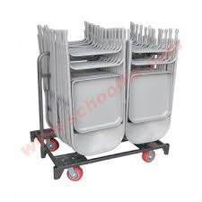 Click on thumbnails to view more. Holds 28 Folding Chairs Mover Storage ...