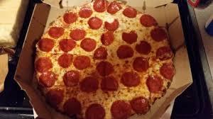 domino s pepperoni pizza box.  Pizza Dominou0027s Pizza Medium Thin Crust Pepperoni Pizza With Domino S Box N