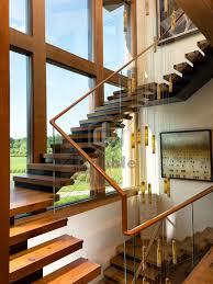 china modern stairs wooden handrail glass railing wood staircase china wood staircase wood handrail railing