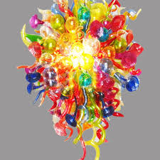 colorful unique chandelier modern handmade colorful glass chandelier contemporary