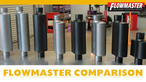 Flowmaster Loudness Chart Flowmaster Muffler Comparison W Examples How To Choose A Muffler For V6 Dodge Charger Other Cars