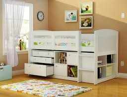 Soothing Storage With Desk Bunk Beds Also Desk Kids Full Size Beds