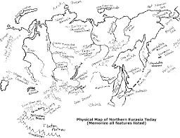 t1revnomads Map Asia Test review your manual's physical map of northern eurasia, map of asia test