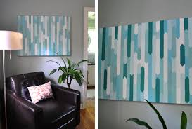 geometric shapes painted on a canvas