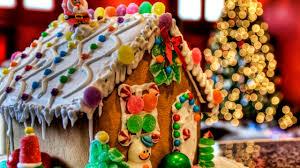 gingerbread house wallpaper.  Wallpaper Gingerbreadhouseholidayhdwallpaper2560144020412 To Gingerbread House Wallpaper
