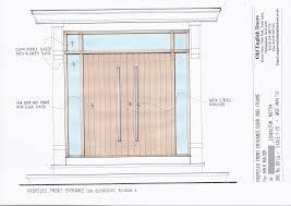front door drawing. Drawing Of Our Contemporary Double Doors Front Door E