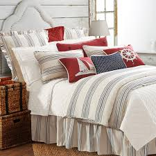 architecture navy stripe duvet cover popular nautical striped natural linen and white regarding 0 from