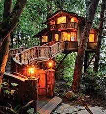Treehouse Lighting Ideas